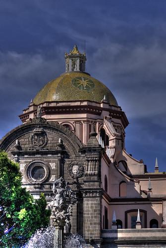 Catedral Puebla HDR