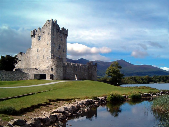 Ross Castle, Killarney, Ireland | Ross Castle (Irish: Caisle