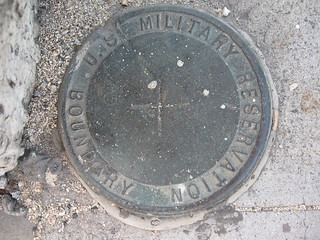 US Military Reservation Boundary marker | by nsub1