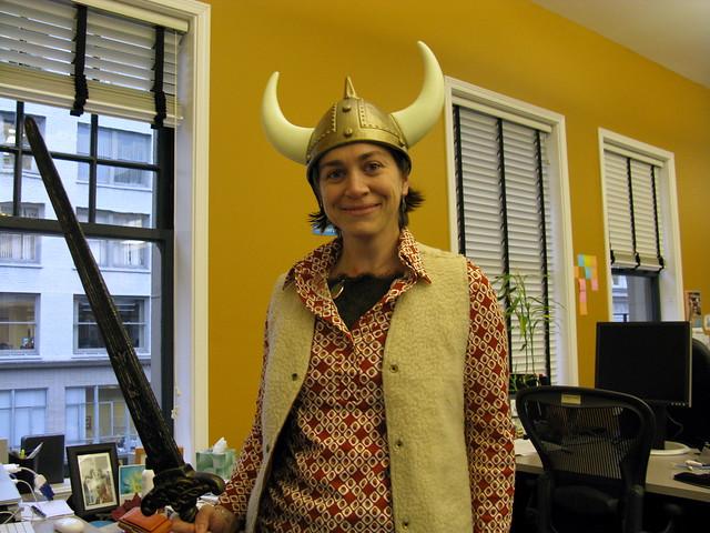 Libby the Viking