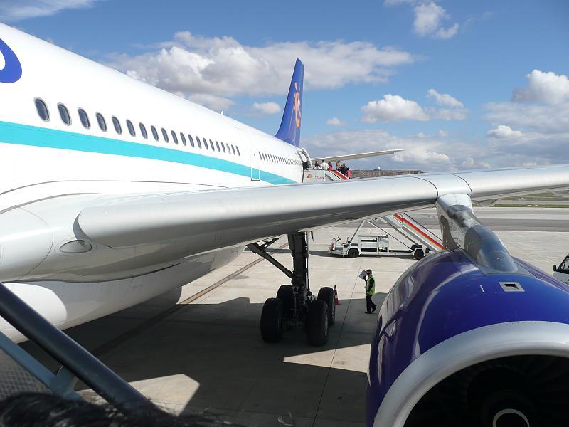 transporte en Indonesia, volaremos en avión