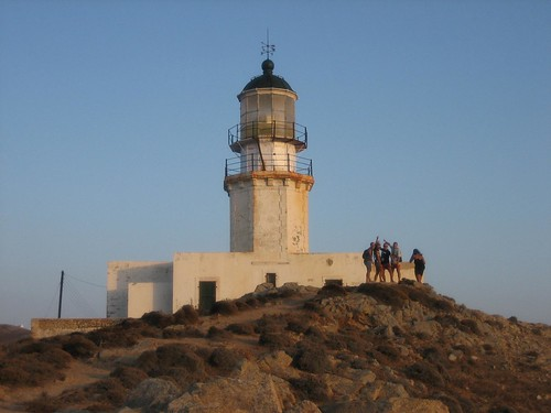 Mykonos - Armenistis lighthouse in Agios Stefanos | by CME NOW