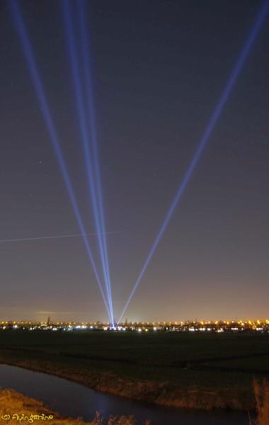 Heavy spotlights