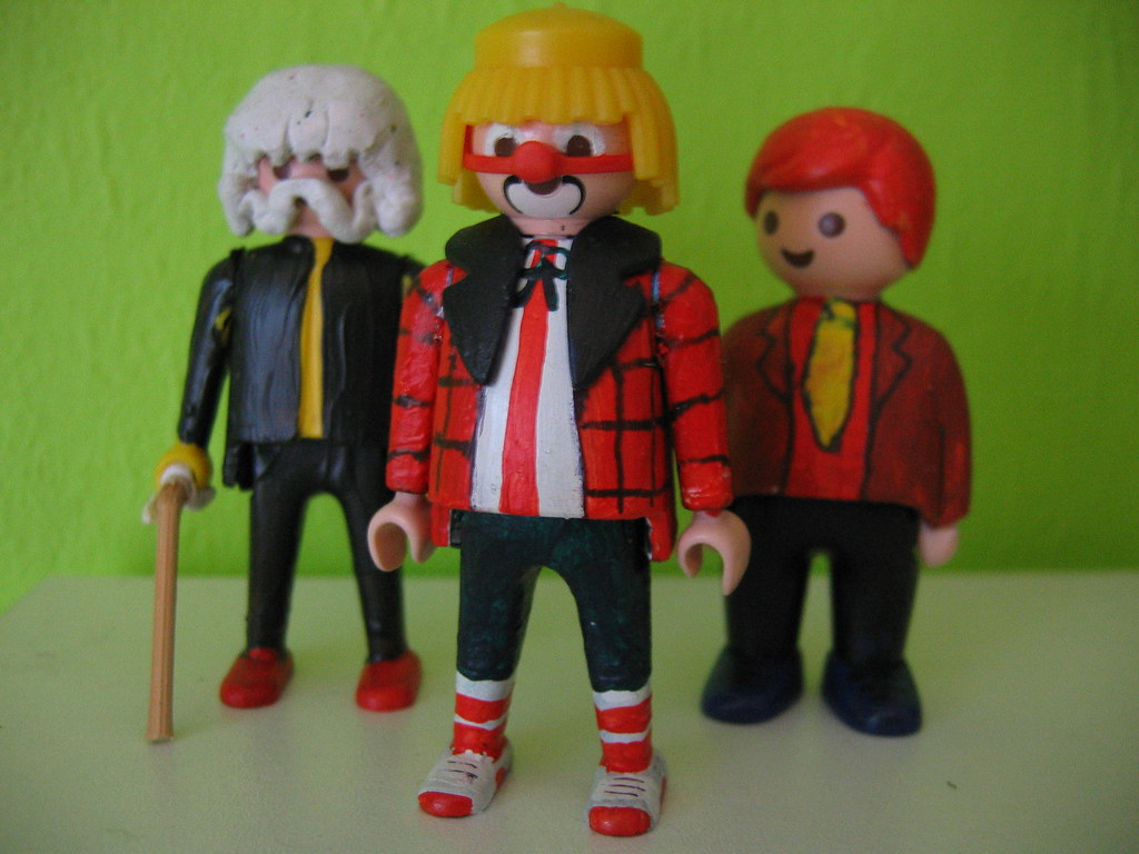 Bassie En Adriaan Custom Playmobile Figures 3 Customs I Ma