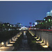 Night view of Cheonggyecheon stream