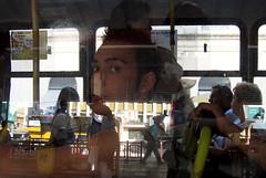 No ônibus, Porto Alegre, 2006