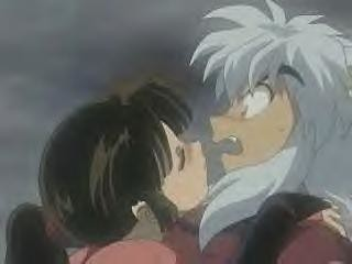 Sango Temps To Kiss Inuyasha Link To The Episode Www Yout Flickr