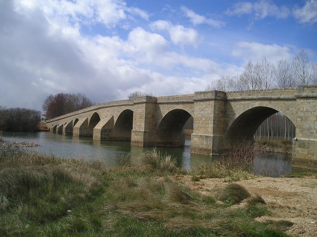 Itero del Castillo (Burgos). Puente de Fitero. Desde la or… | Flickr