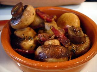 Mushrooms and Ham   by su-lin