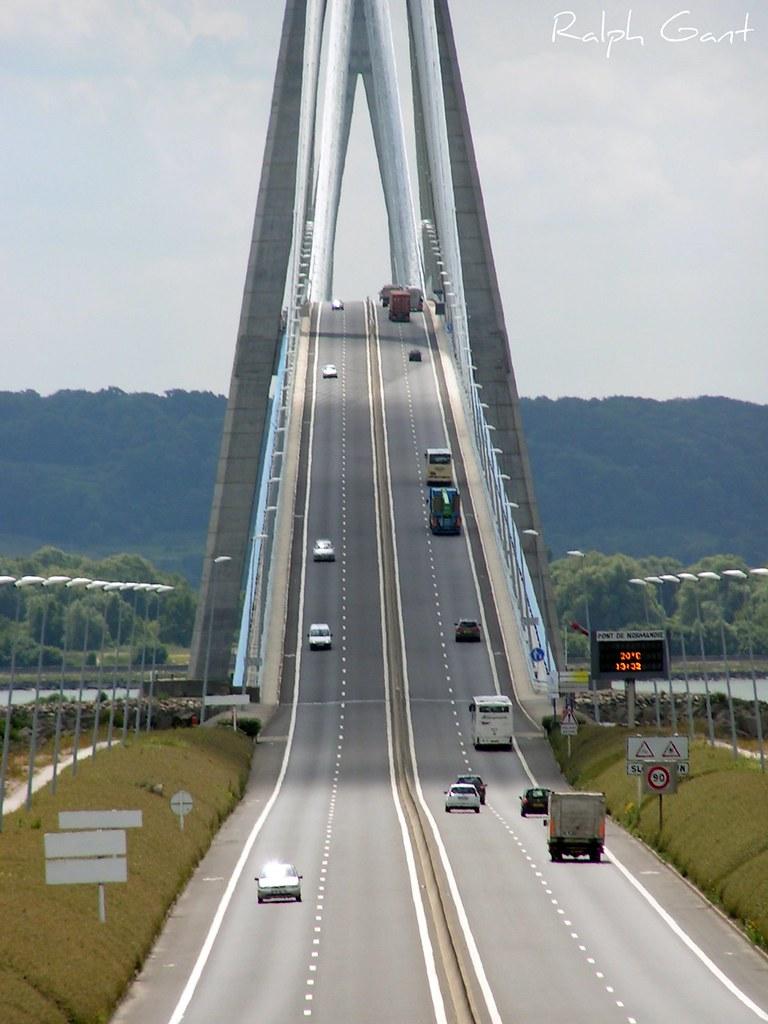 Pont de Normandie, France 2008