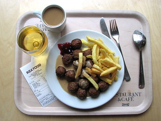 Ikea Food Swedish Meatballs French Fries Apple Soda And Flickr