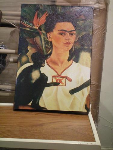 Al fin! Ya lista la miniatura de Frida Kahlo!! 😍🎨 #art