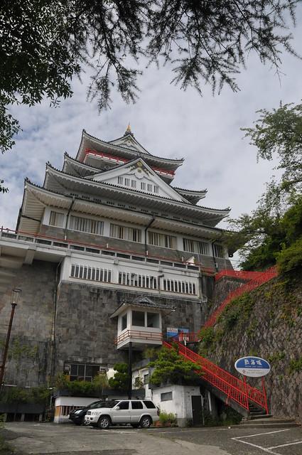 Atami Castle-Stairway