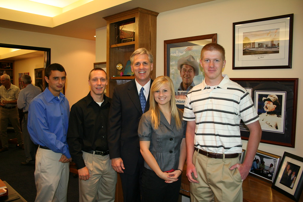 Congressman McCarthy and the Service Academy Nominees for ...
