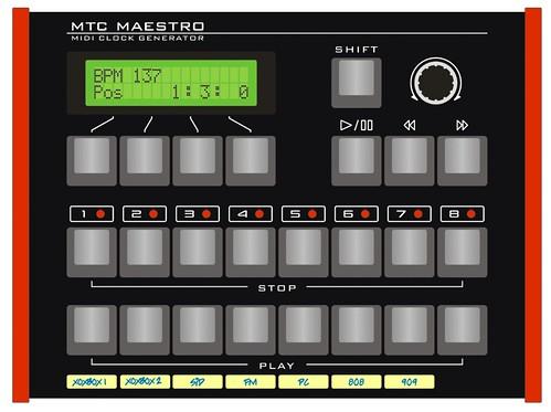 MTC Maestro - MIDI clock generator | A work in progress desi… | Flickr