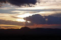 Sunset at Lake Manyara