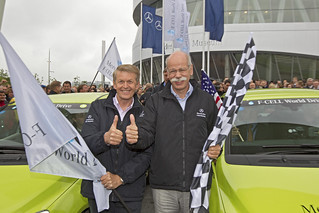 Mercedes-Benz F-CELL World Drive 2011; Germany F-CELL World Drive back in Stuttgart | by Mercedes-Benz F-Cell