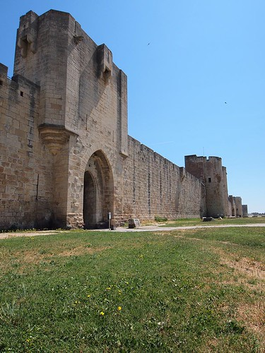 South wall, Aigues-Mortes | by Chris Juden