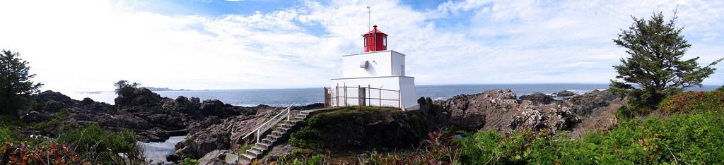 Ucluelet Lighthouse Panorama