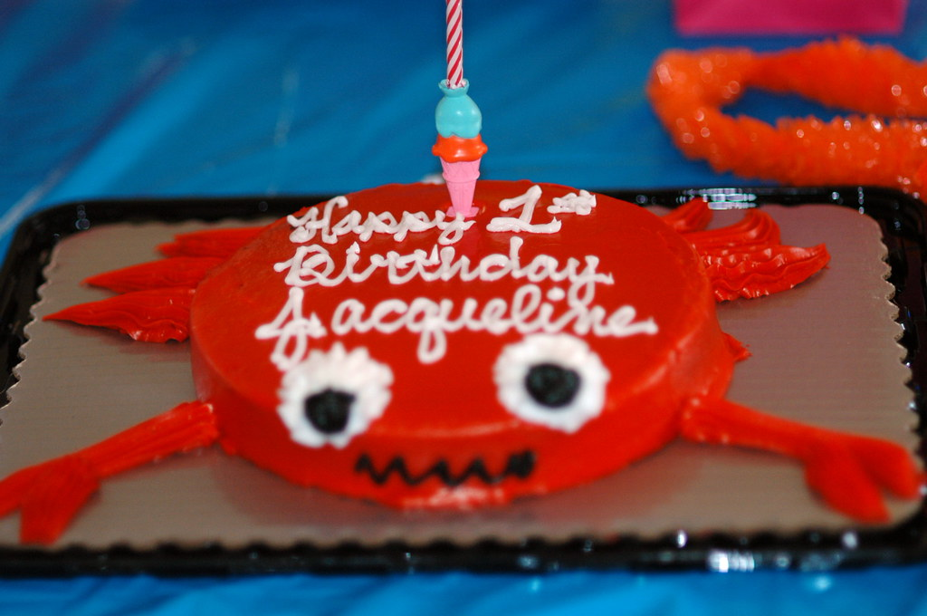 Admirable Crab Cake All The World Is Birthday Cake So Take A Piece Flickr Funny Birthday Cards Online Necthendildamsfinfo