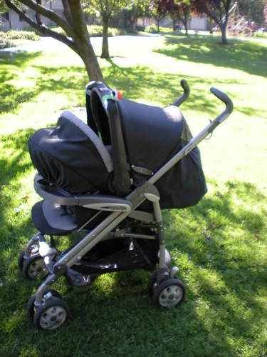 Peg Perego Pliko P3 Stroller and car seat | f_dikbiyik ...