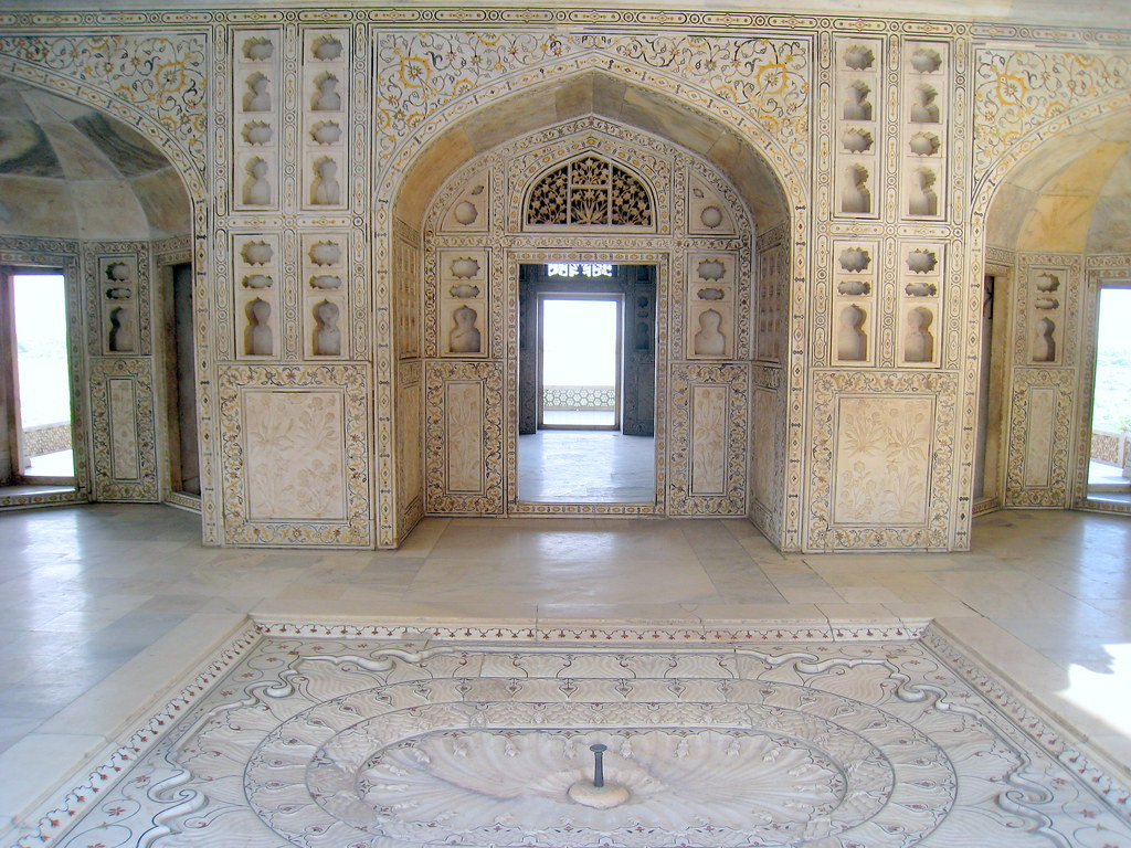 Red Fort The Most Marvellous Marble Room Pool Agra Flickr