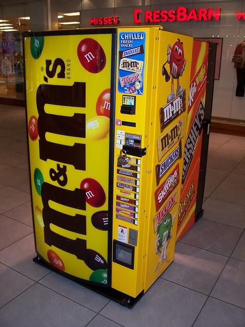 M&M Vending Machine