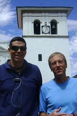 Santiago and Randy in Popayan