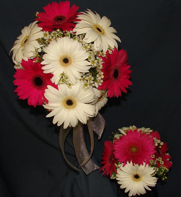 Gerbera Flower Wedding Bouquets: Gerbera Daisy Wedding Bouquets
