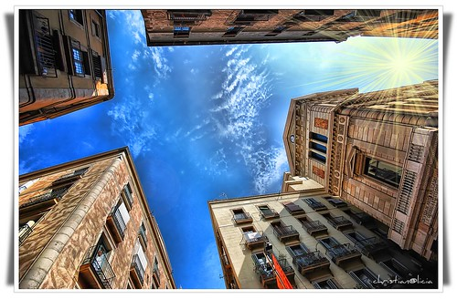 The sky in Raval | by christian&alicia
