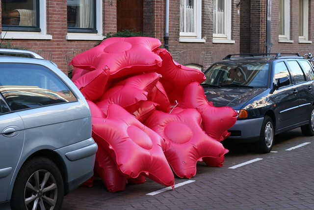 Parking Day 2008 : Bushwaffle deploys in Amsterdam