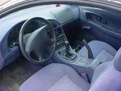 Silver Mitsubishi Eclipse Interior | Silver Mitsubishi Eclip