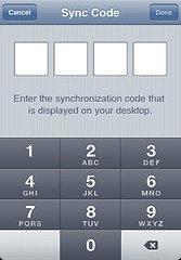 iPhone Sync Code | by factoryjoe