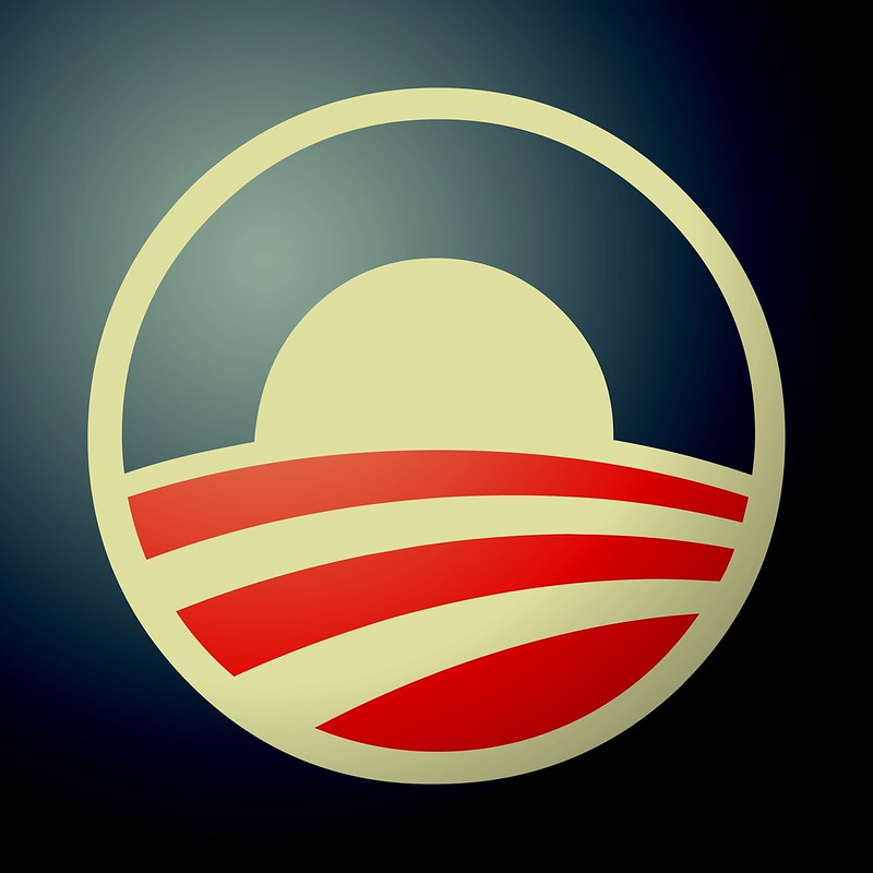 Obama Logo - edited to yellow tone