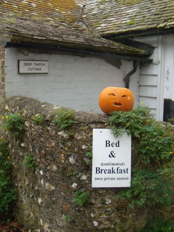 Pumpkin head, Rodmell Theres sumpkin about pumpkins. Lewes circular via Rodmell Lewes bonfire night