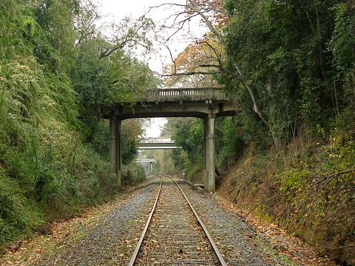 tracks aiken southcarolina bridge railroad scbin carlfbagge