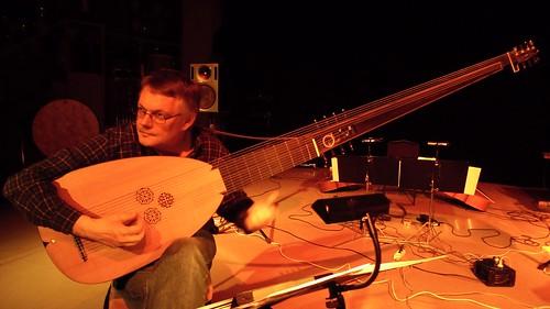 Peter Söderberg during soundcheck