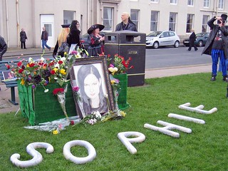 Whitby Goth Weekend - Sophie Lancaster Memorial | by Sparklygrrl
