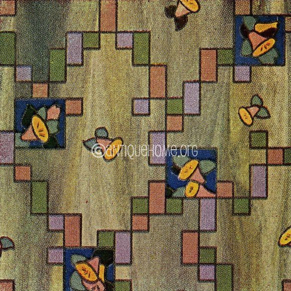 Linoleum Pattern 1930