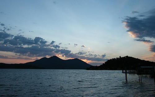 california travel sunset clearlake