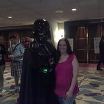 Darth Vadar with Avery