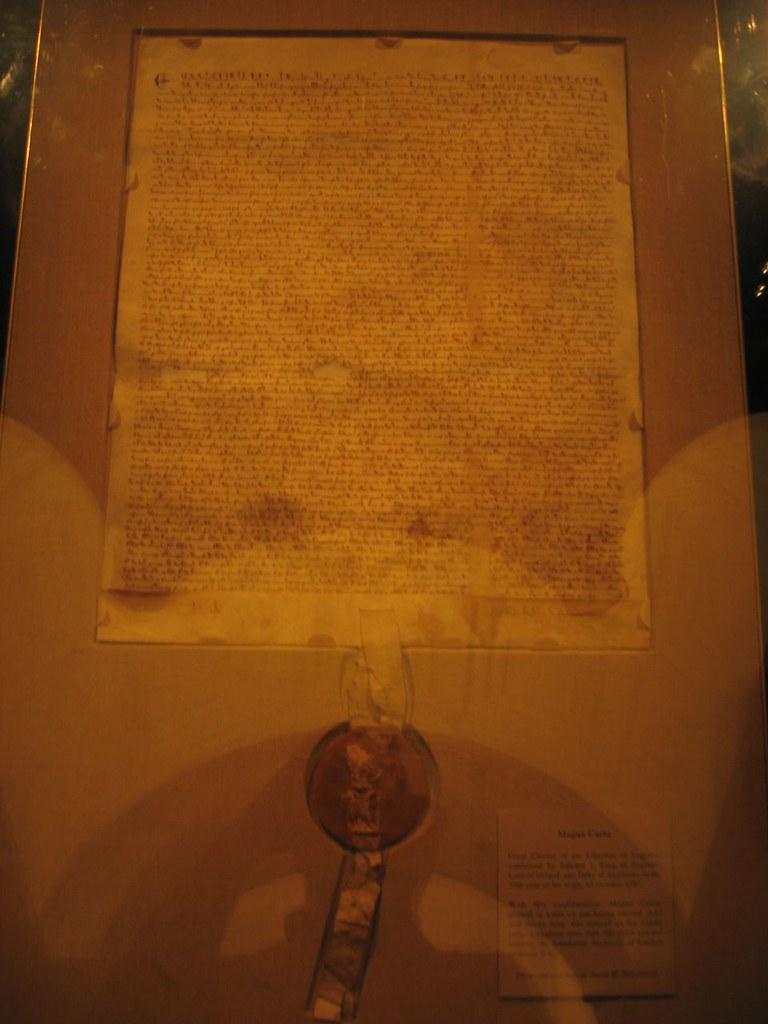 1215 Magna Carta (1297 Version), National Archives, Washington, D.C.