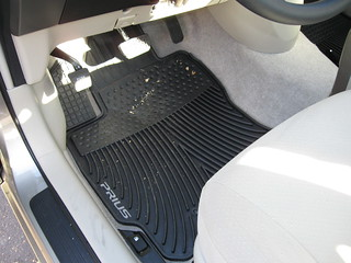 2009 Toyota Prius - OEM all-weather floormats | by Ryan Finnie