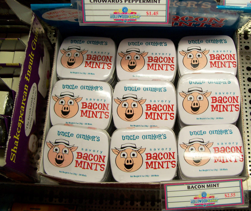 bacon mints - wtf