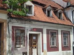 A dilapidated house in Maribor, Slovenia