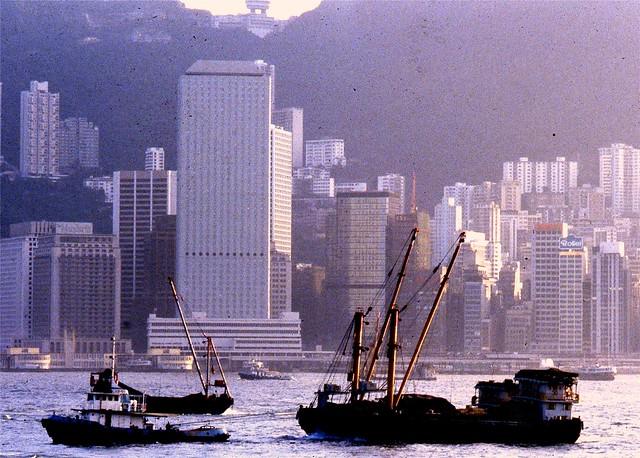 Hong Kong Harbor 1982