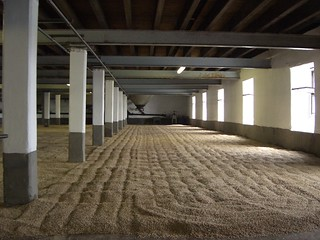Laphroaig malting floor | by Sharp!Sharp!