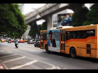 Bus in Bangkok