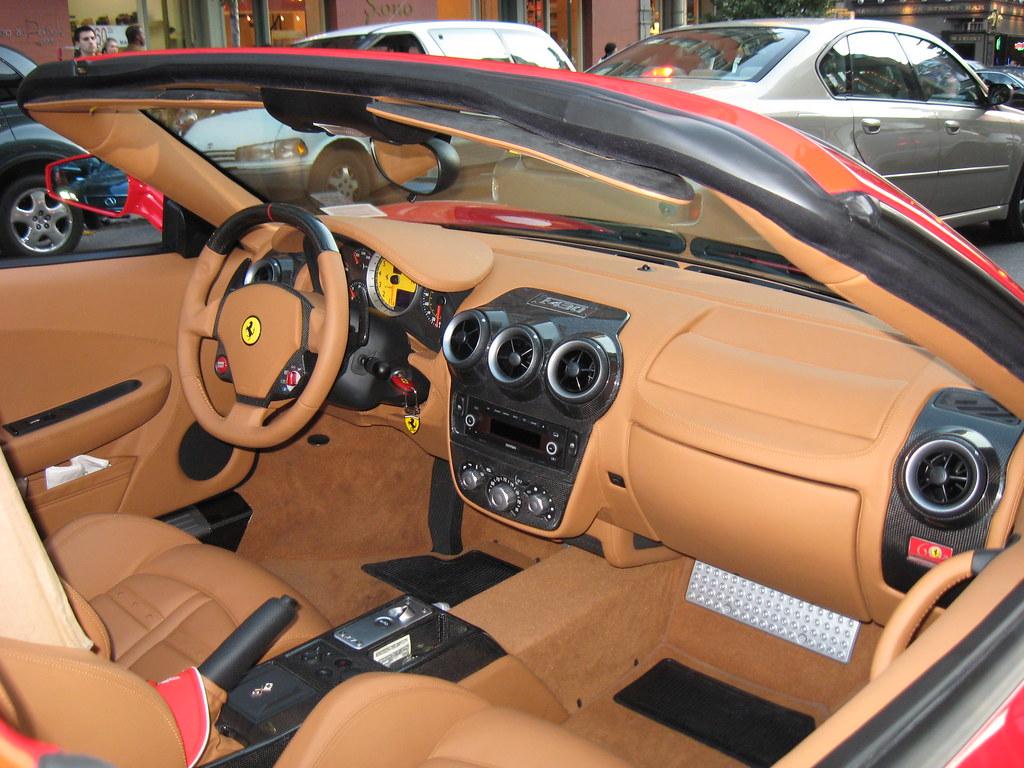 Ferrari F430 Spider F1 Interior Here S A Little Inside Vie Flickr