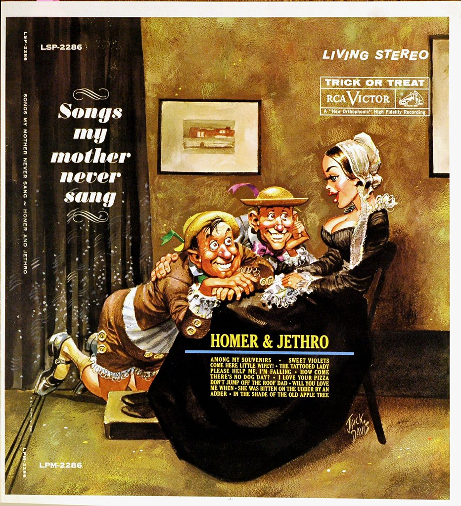Homer and Jethro - Songs my Mother Never Sang | anyjazz65